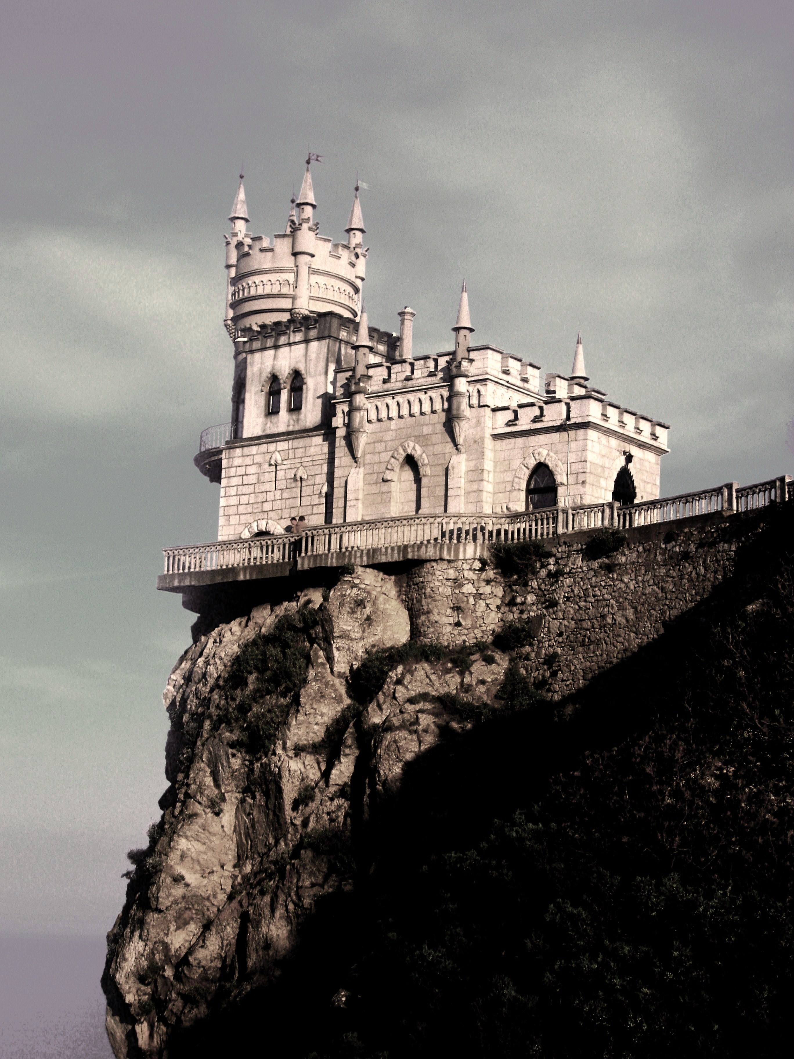 Landscapes Castles Ukraine Crimea HD Wallpaper