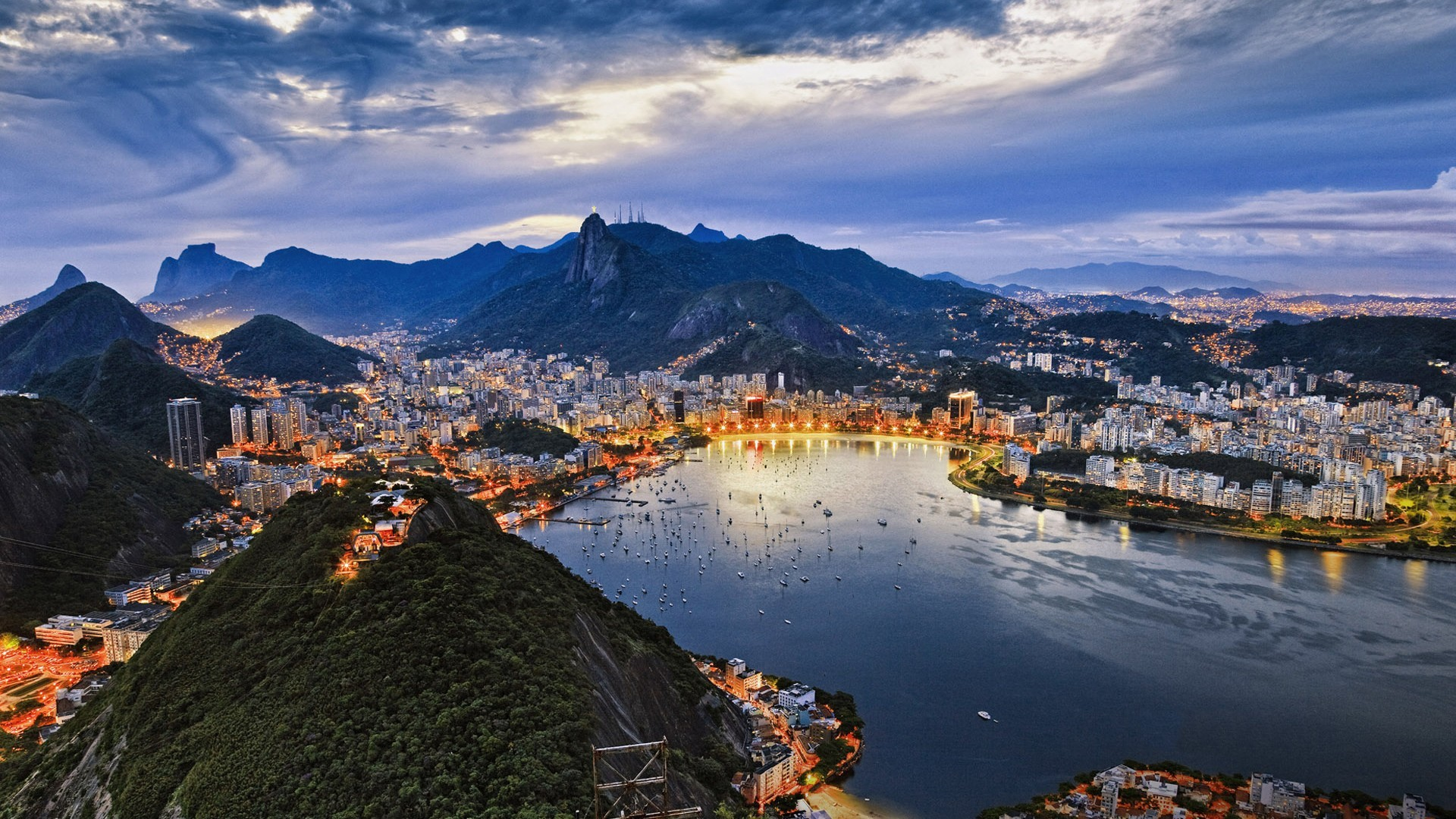 Landscapes cityscapes Rio de HD Wallpaper
