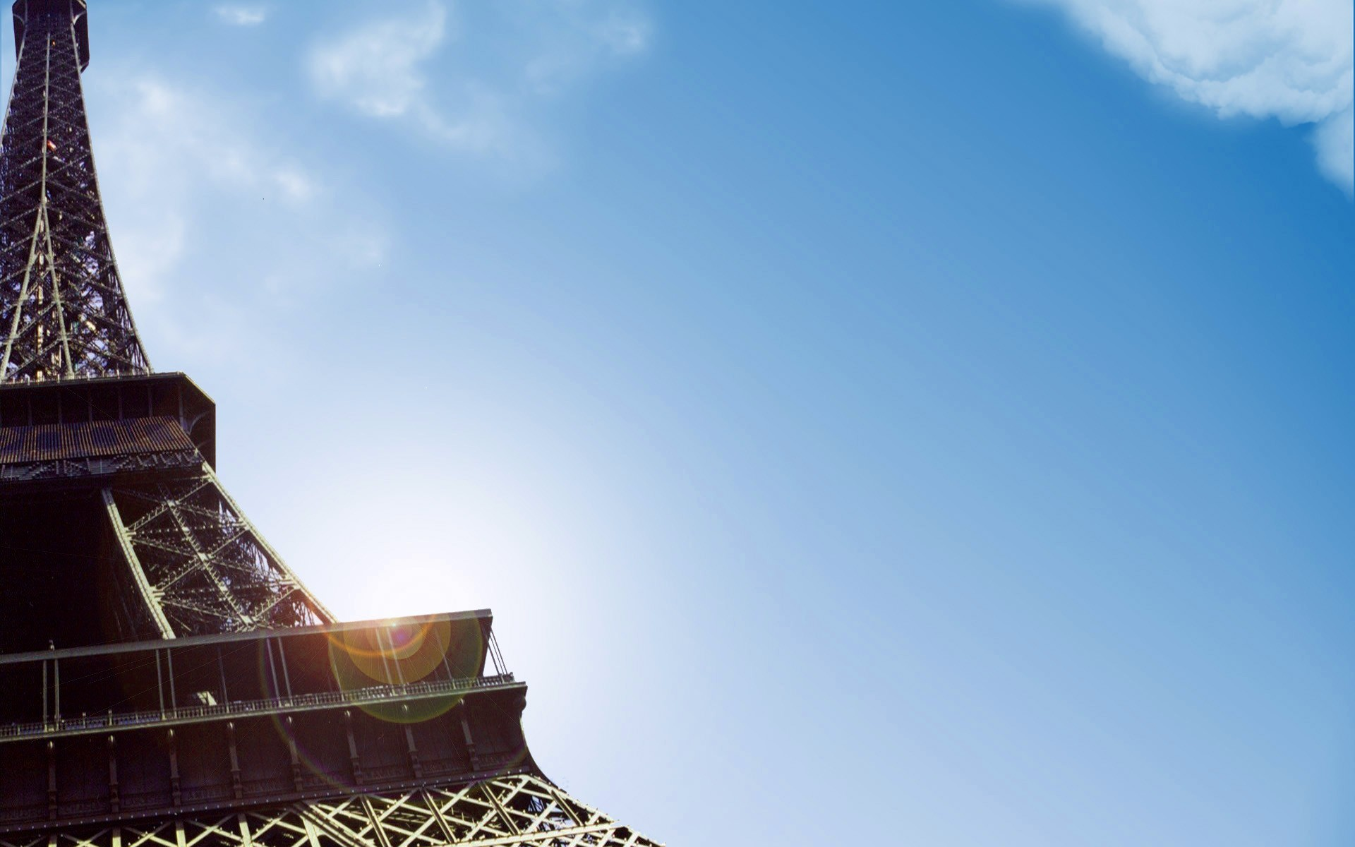 Landscapes Eiffel Tower Paris skyscapes HD Wallpaper