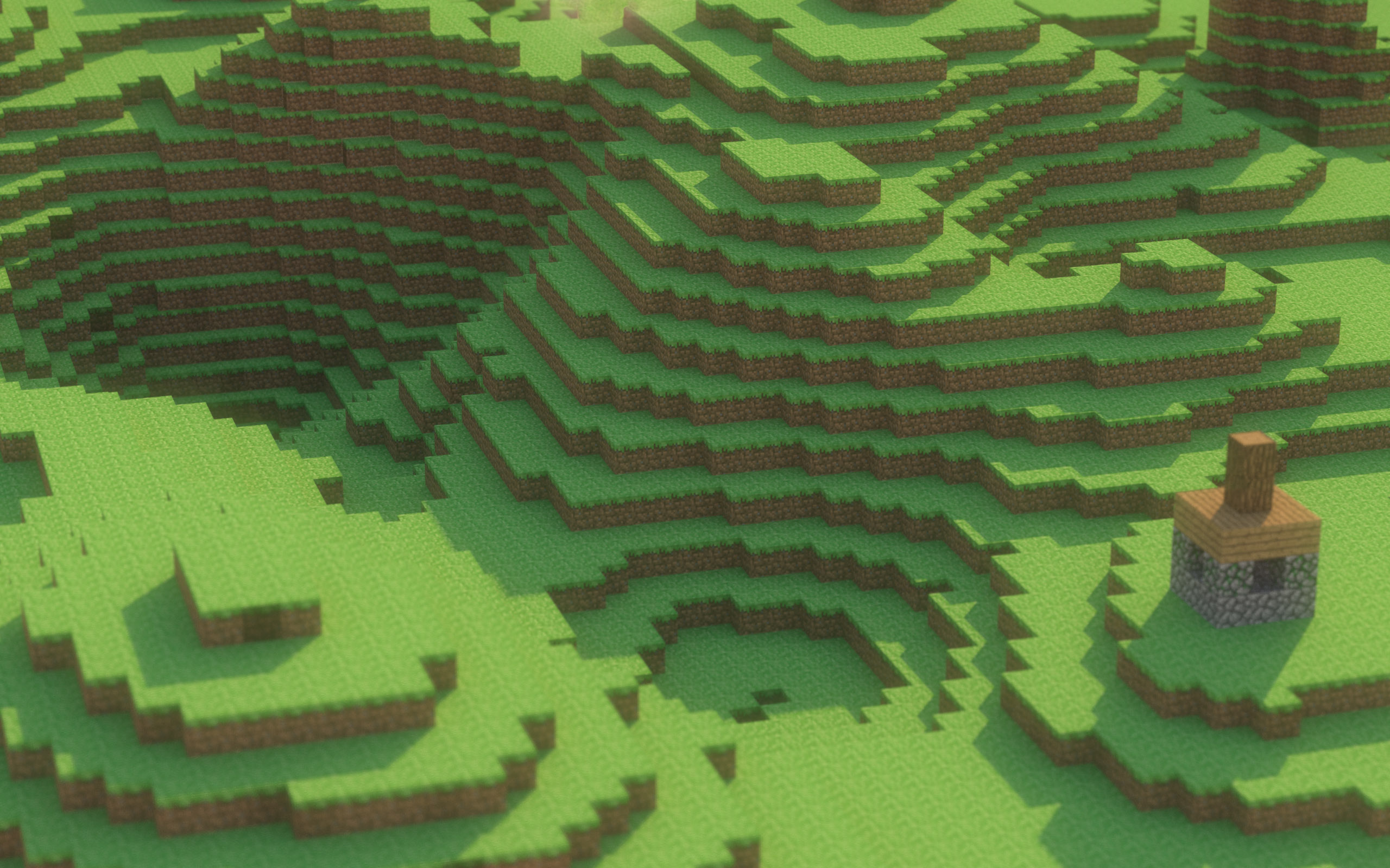 Landscapes minecraft