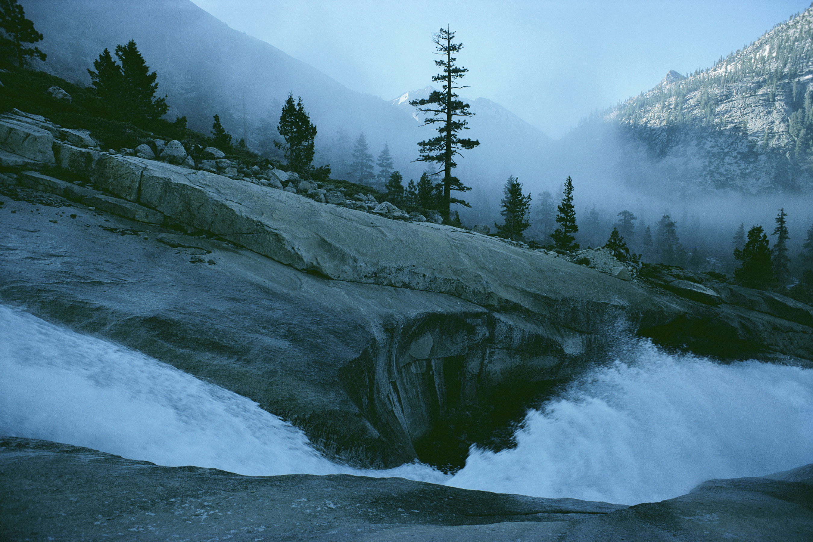 Landscapes mist California Sierra HD Wallpaper