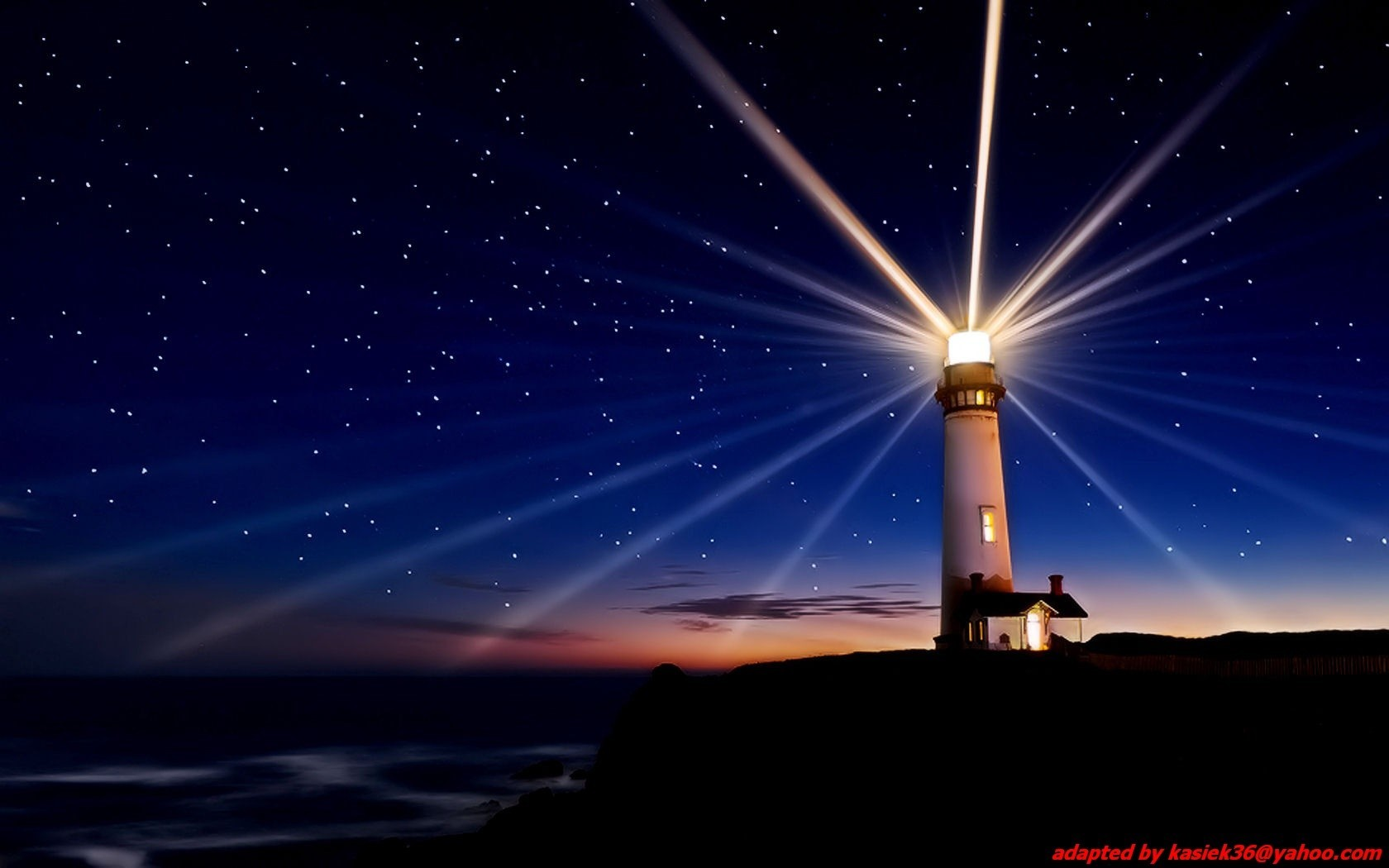 Landscapes nature lights lighthouses HD Wallpaper