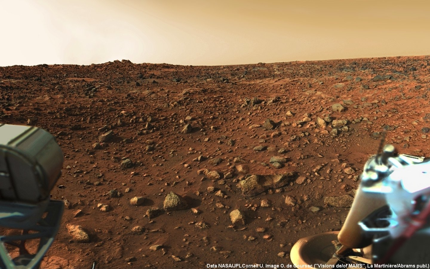 Landscapes outer space Mars