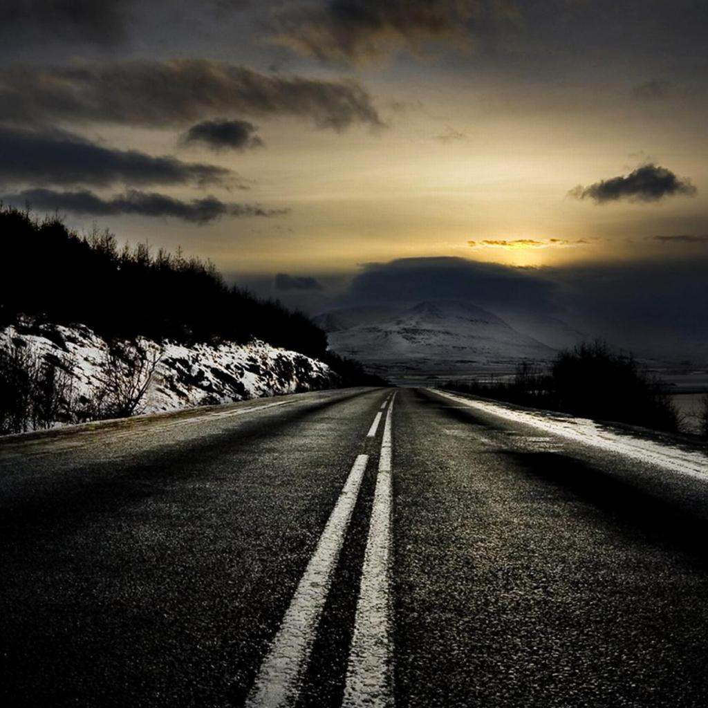 Landscapes roads HD Wallpaper
