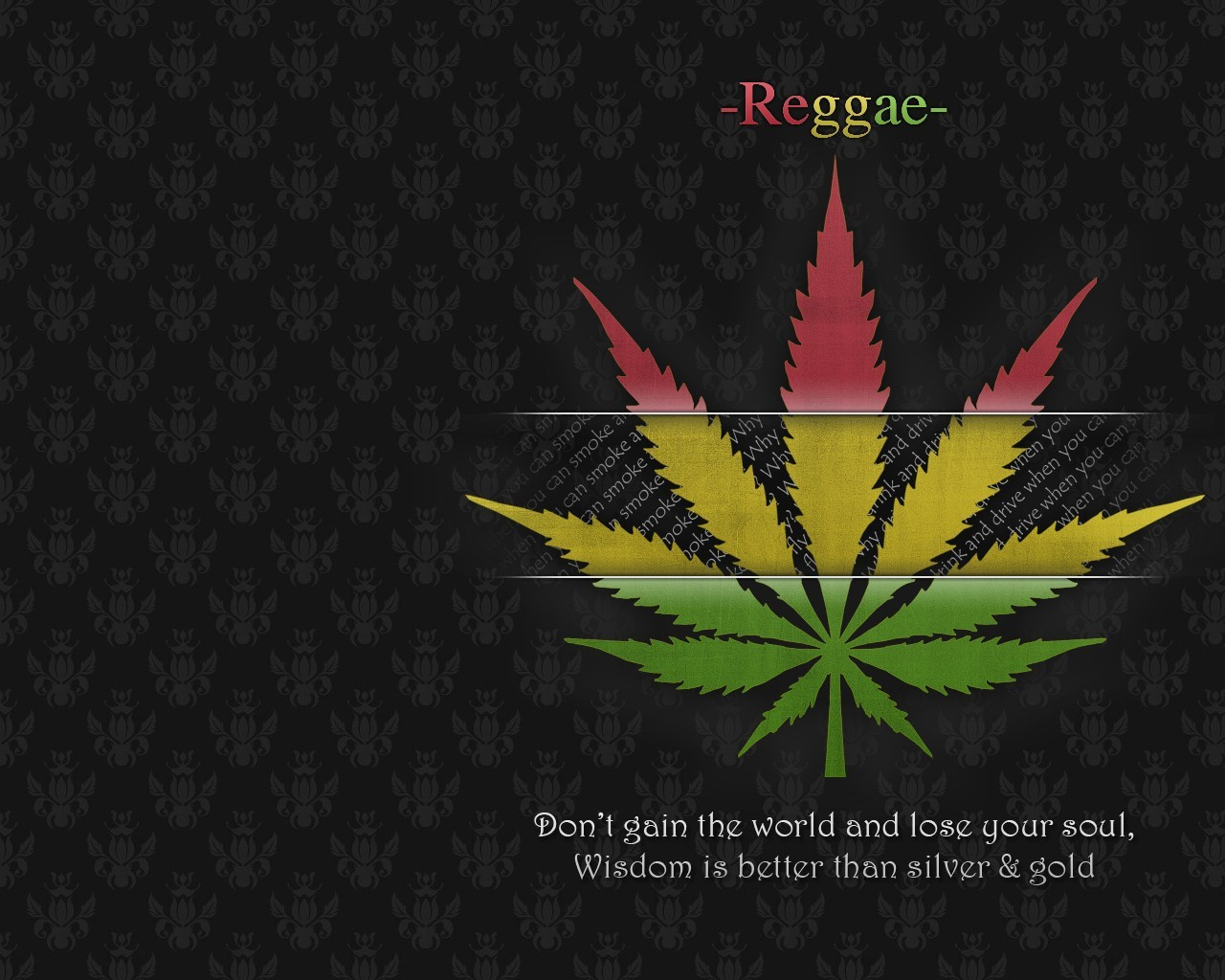 leaf Quotes marijuana rasta HD Wallpaper