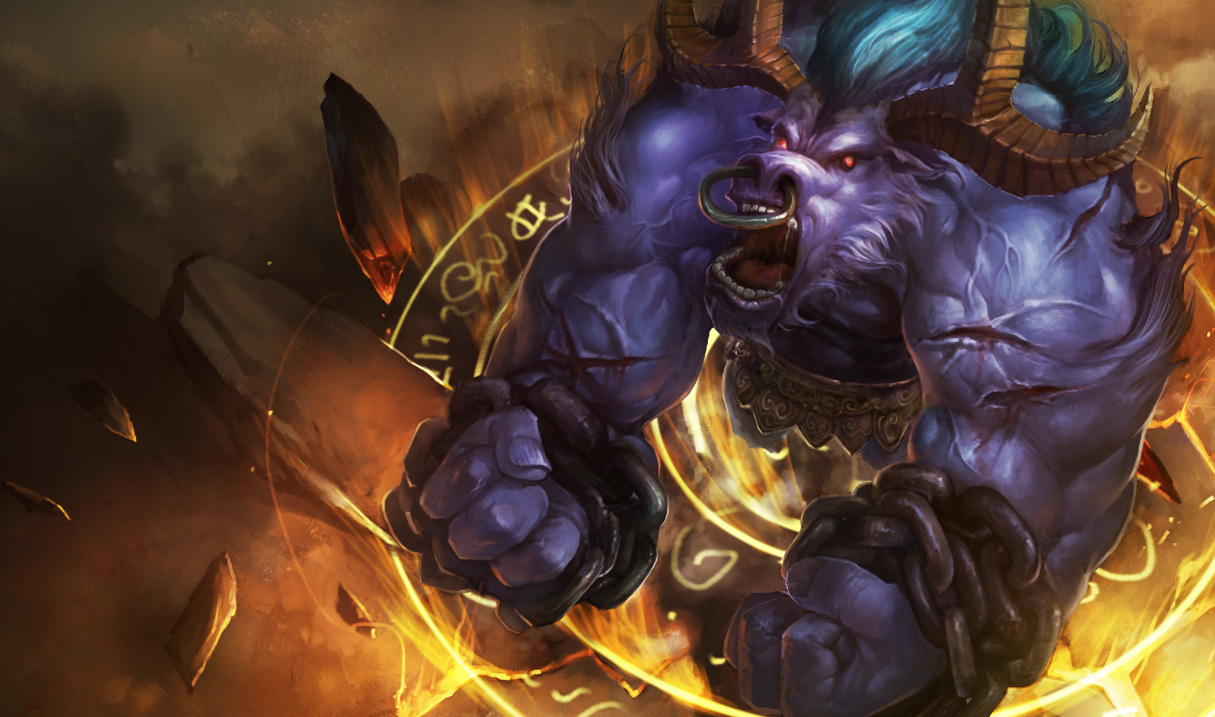 League of Legends Alistar HD Wallpaper