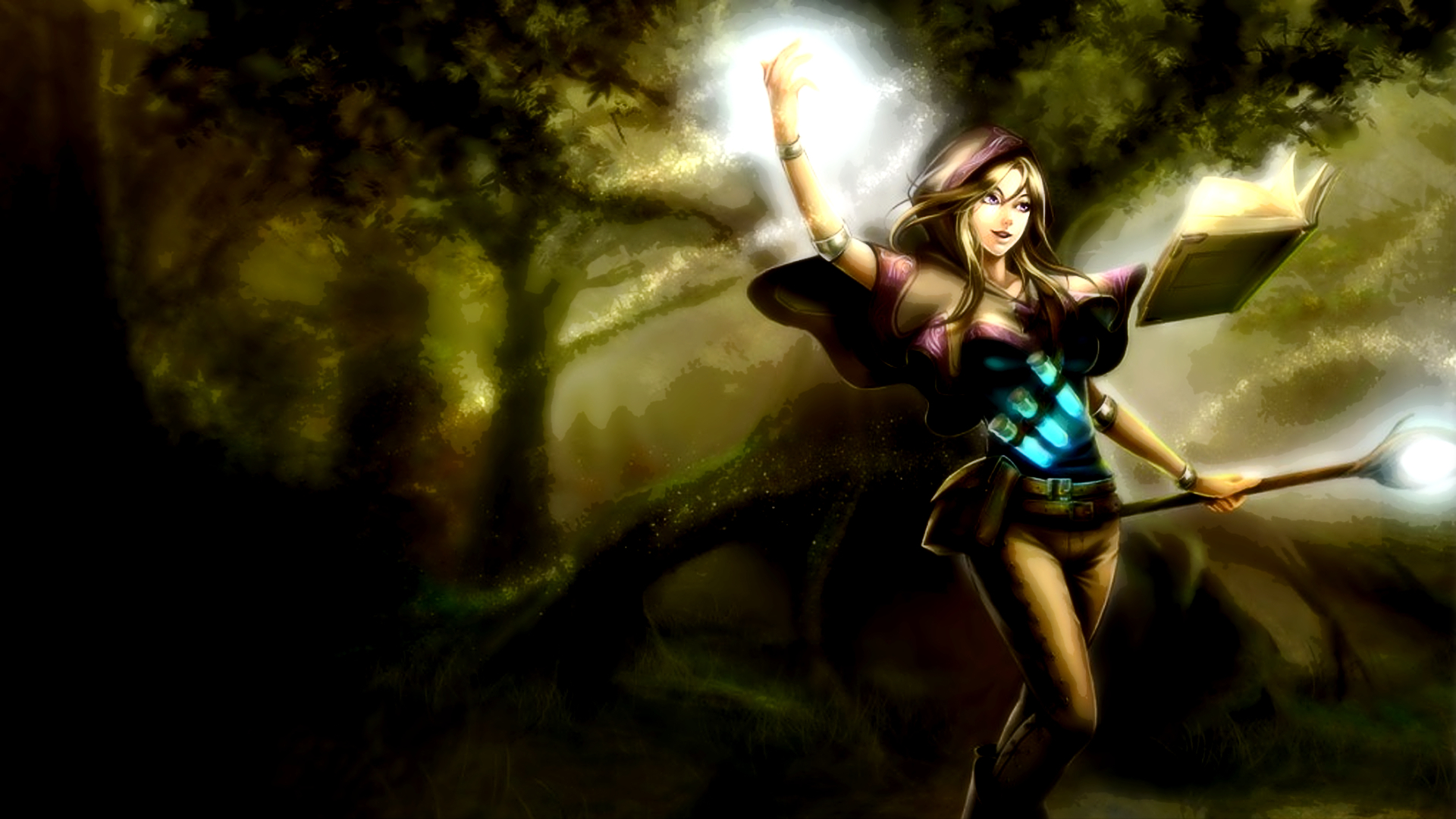 league of Legends fantasy HD Wallpaper