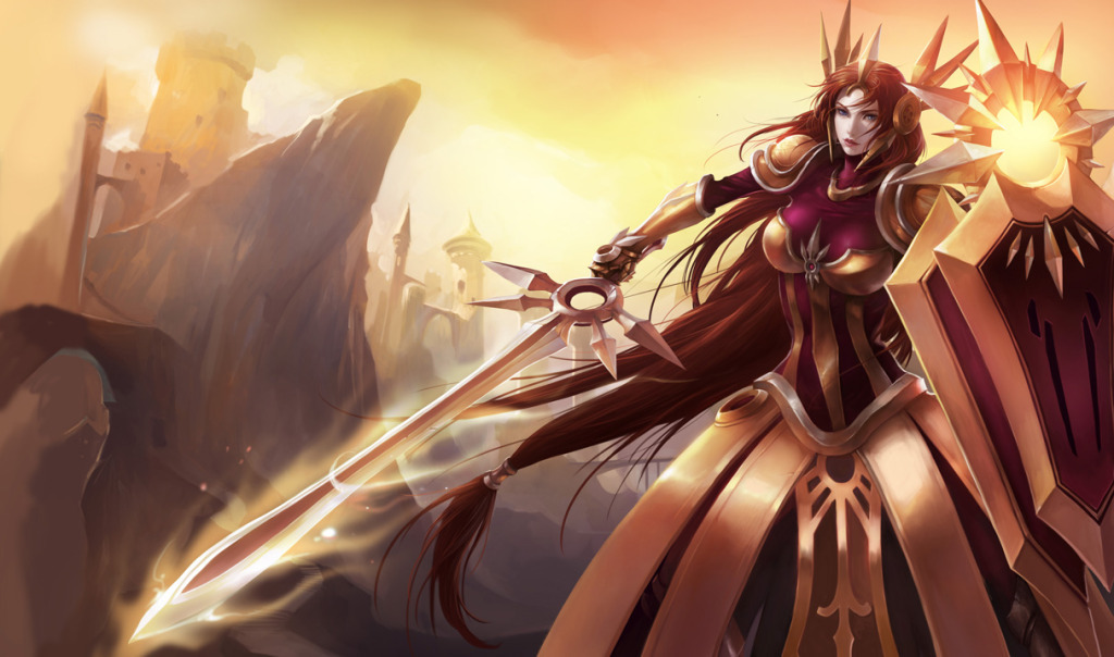 League of Legends Leona HD Wallpaper