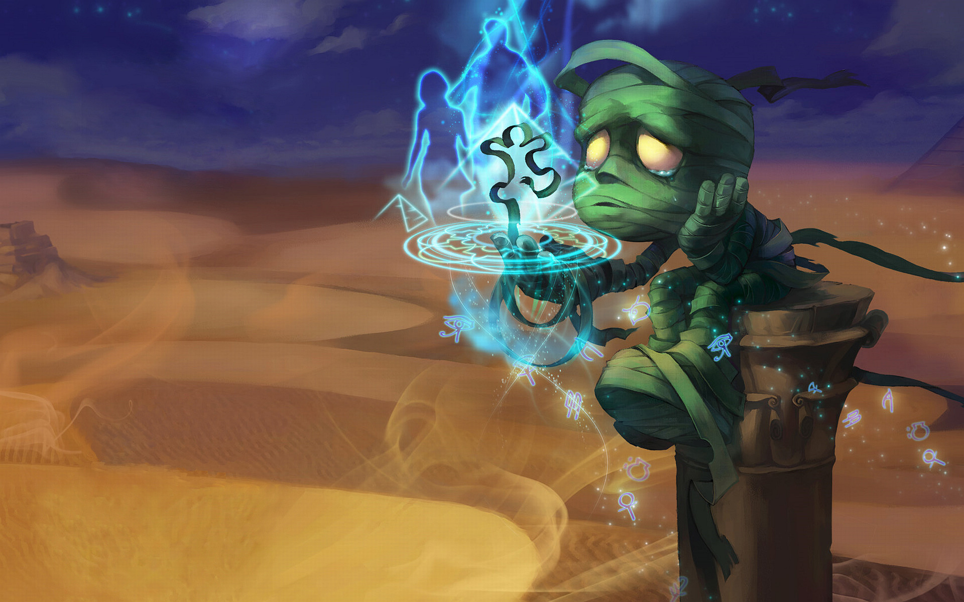 league of Legends Mummy HD Wallpaper