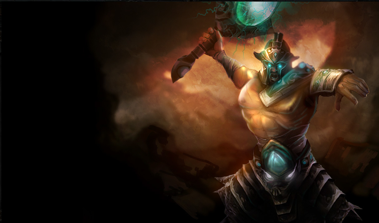 league of Legends tryndamere HD Wallpaper
