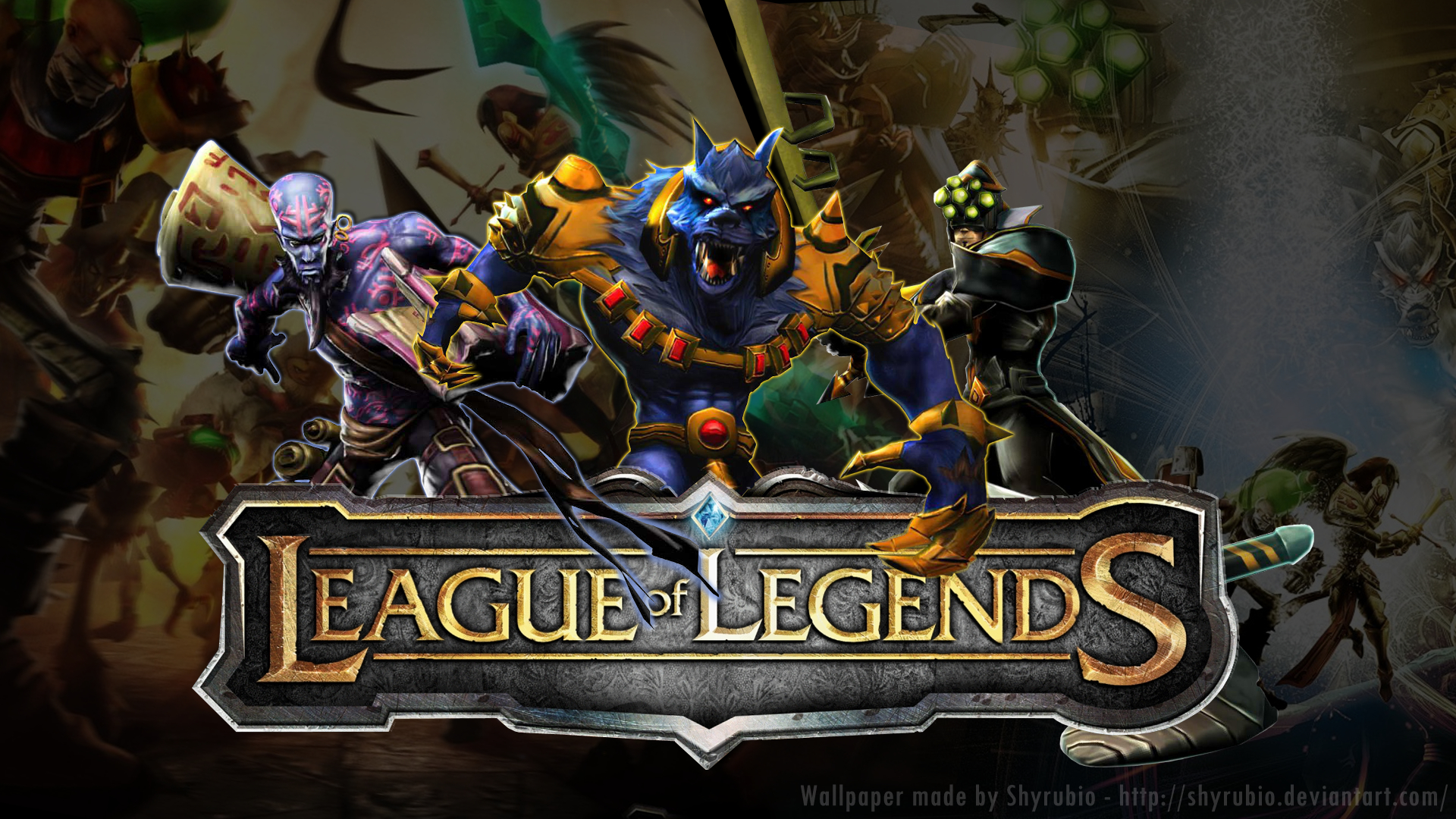 league of Legends Warwick HD Wallpaper