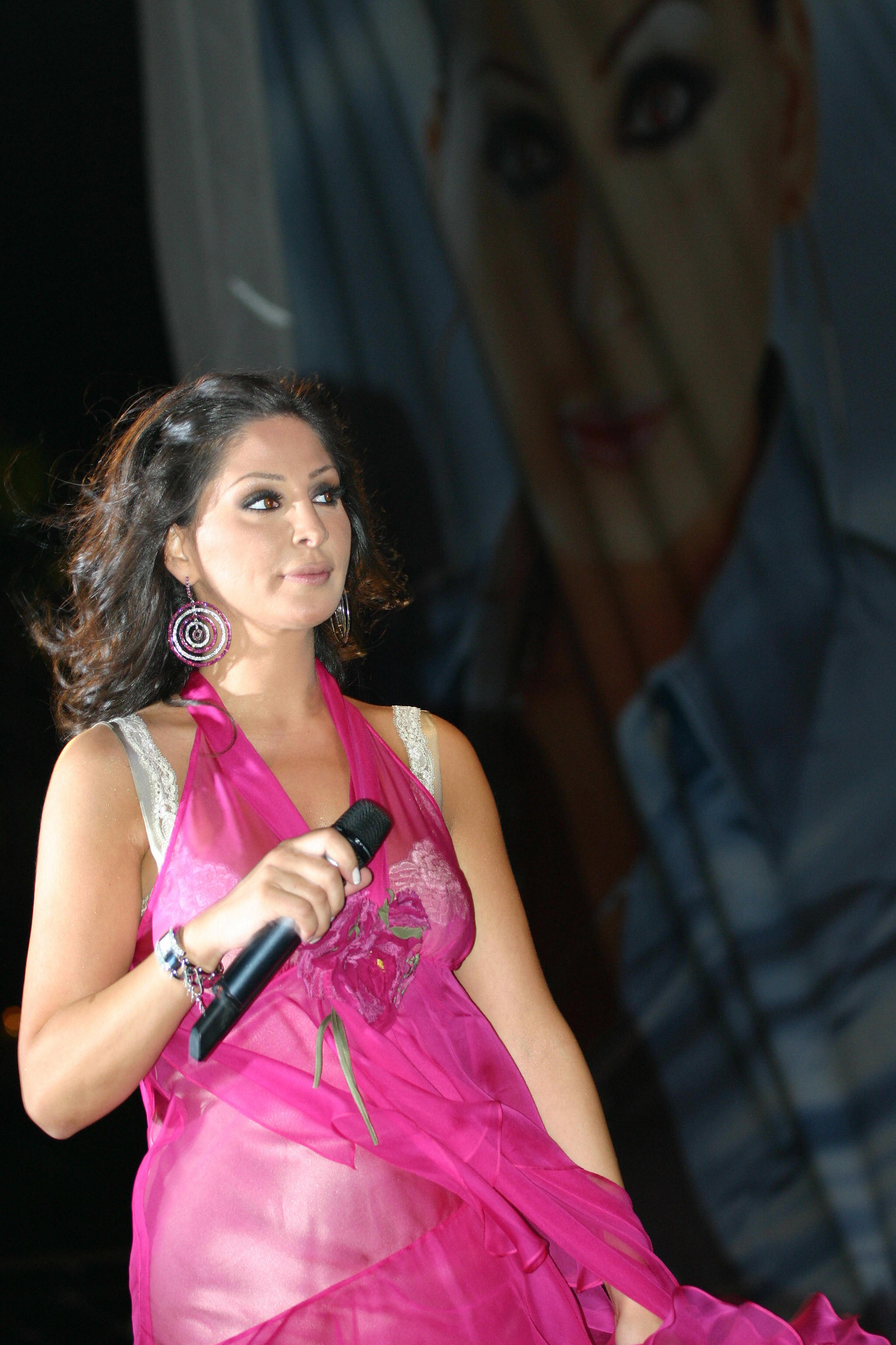 lebanese Pop star elissa