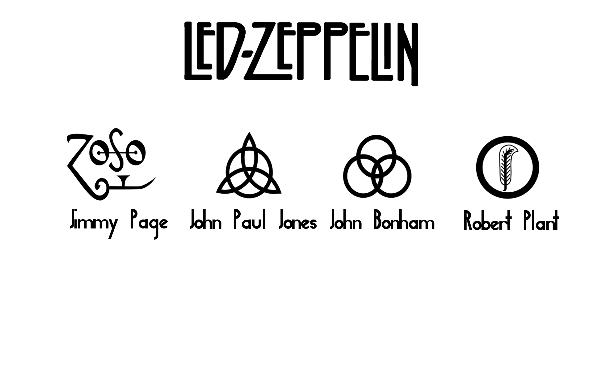 led Zeppelin Music bands HD Wallpaper