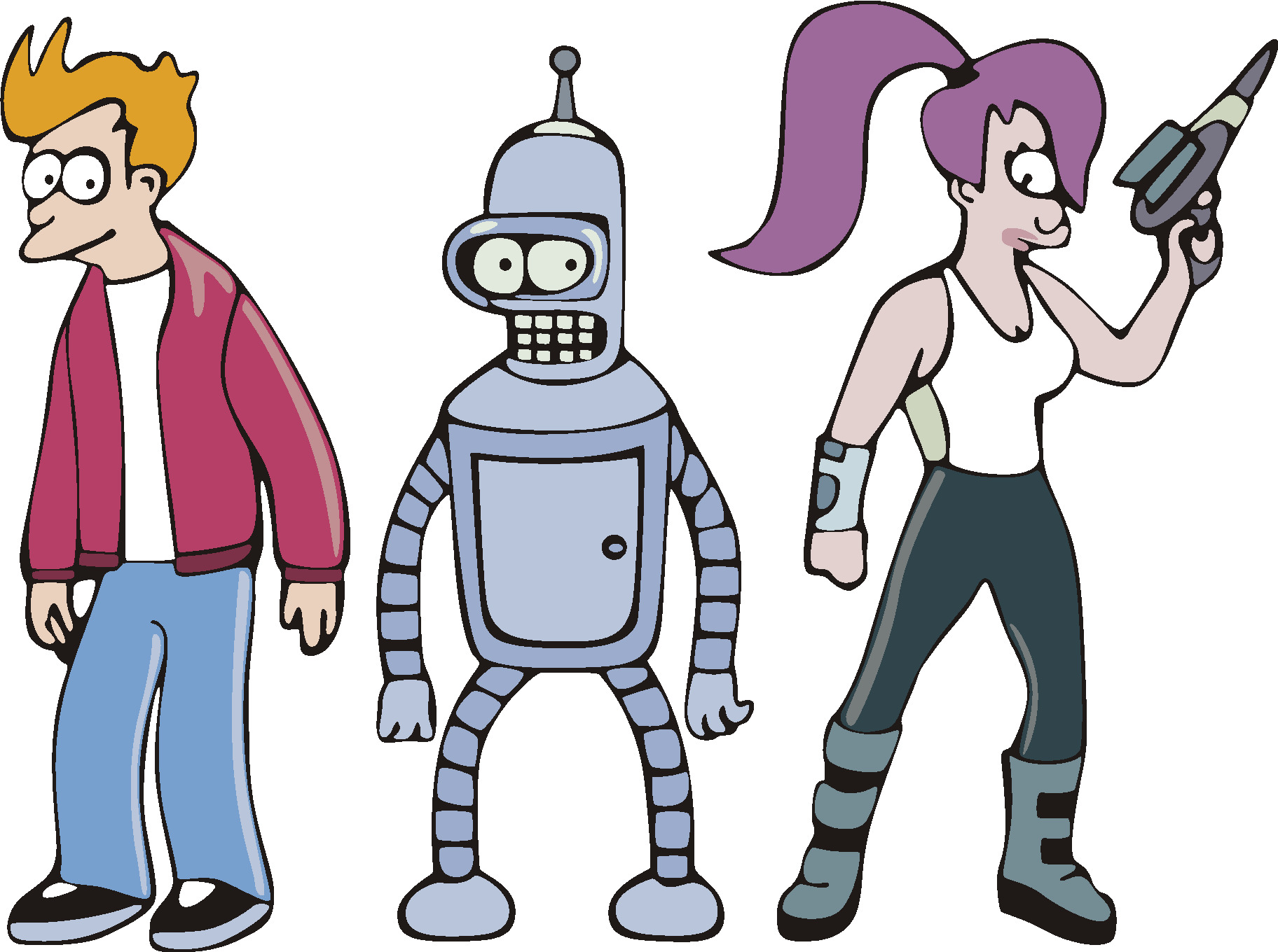 leela Philip fry Futurama HD Wallpaper