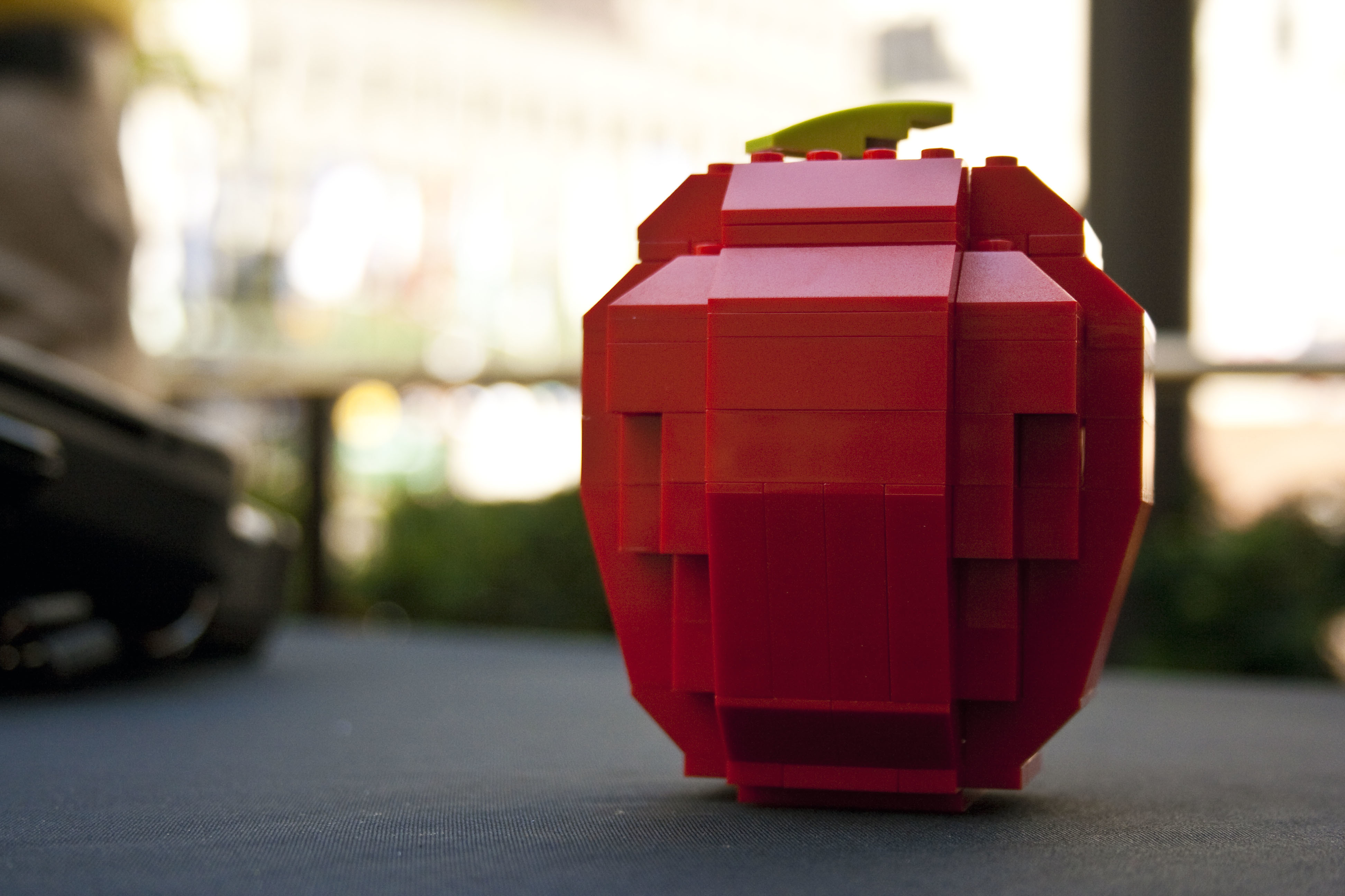 Lego apples game HD Wallpaper