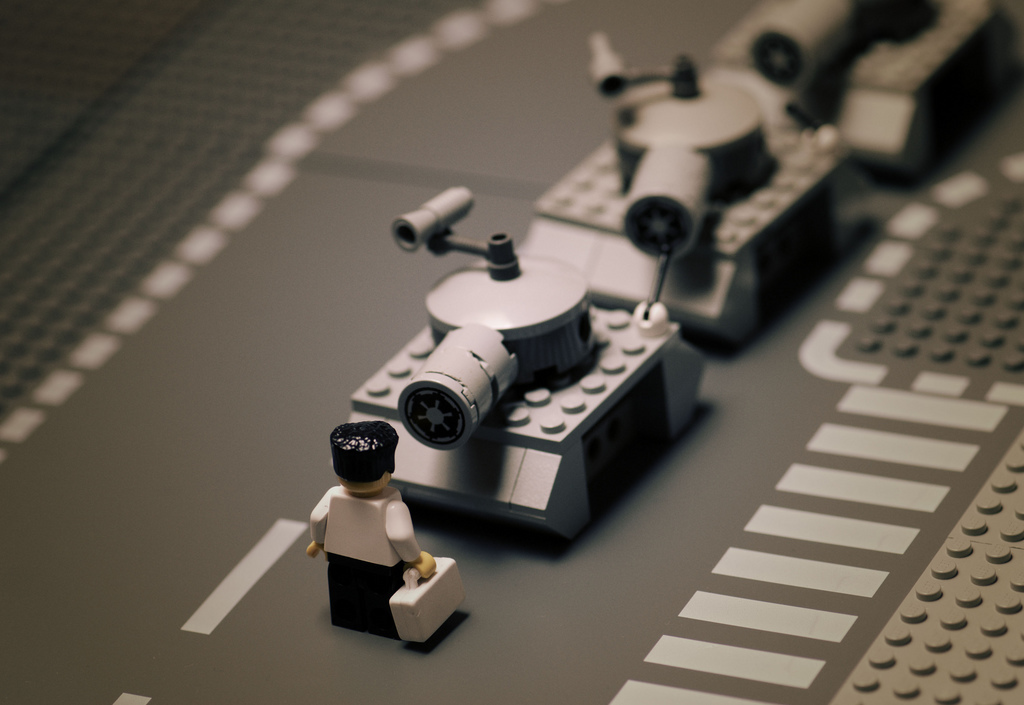 Lego China tanks tiananmen HD Wallpaper