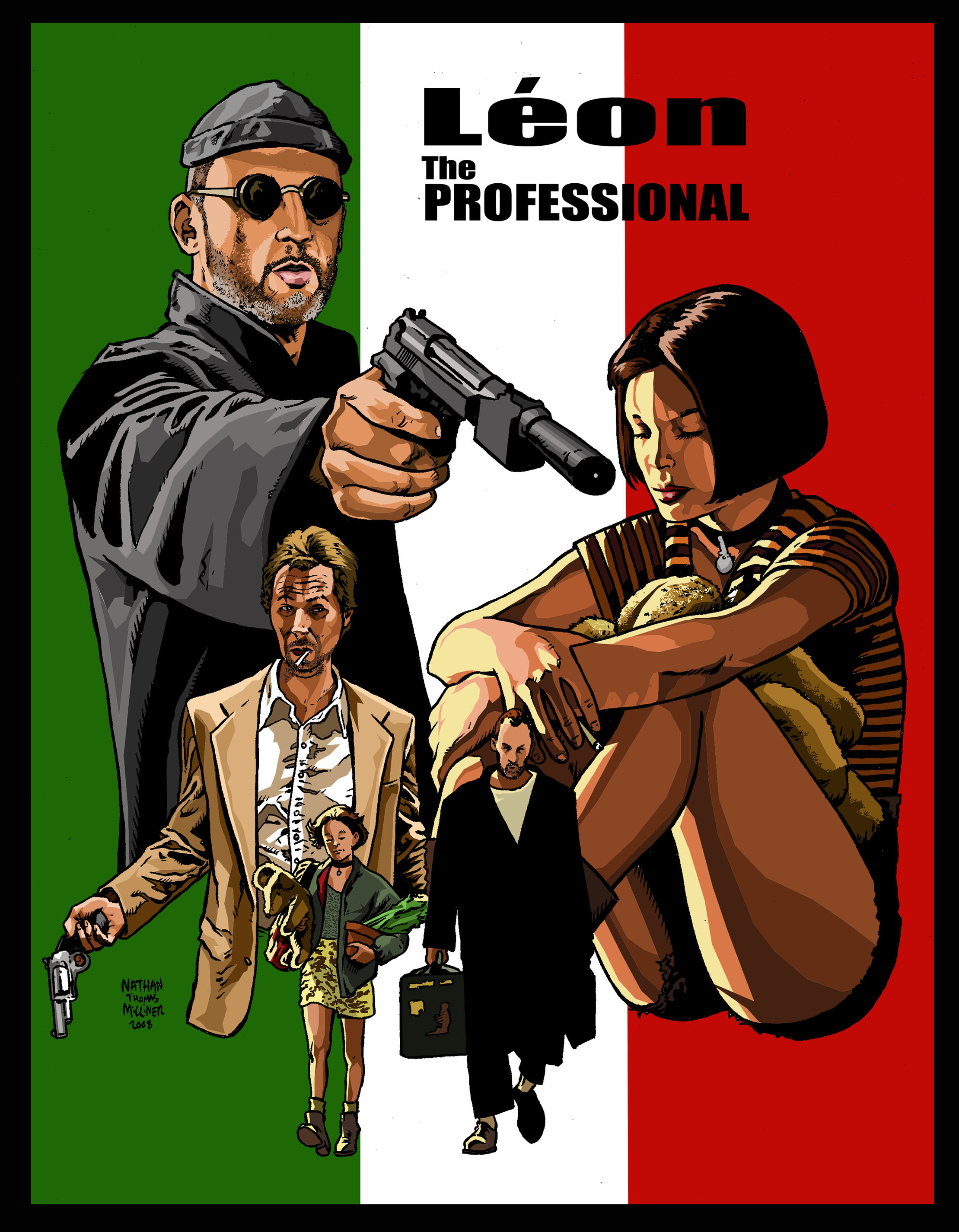 Leon The Professional jean HD Wallpaper