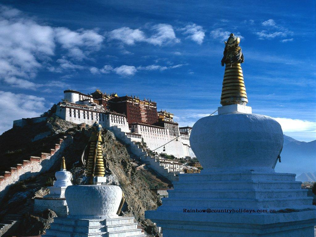 lhasa Monastery Tibet not HD Wallpaper