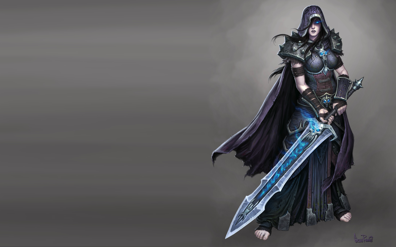 lich king armor Swords HD Wallpaper