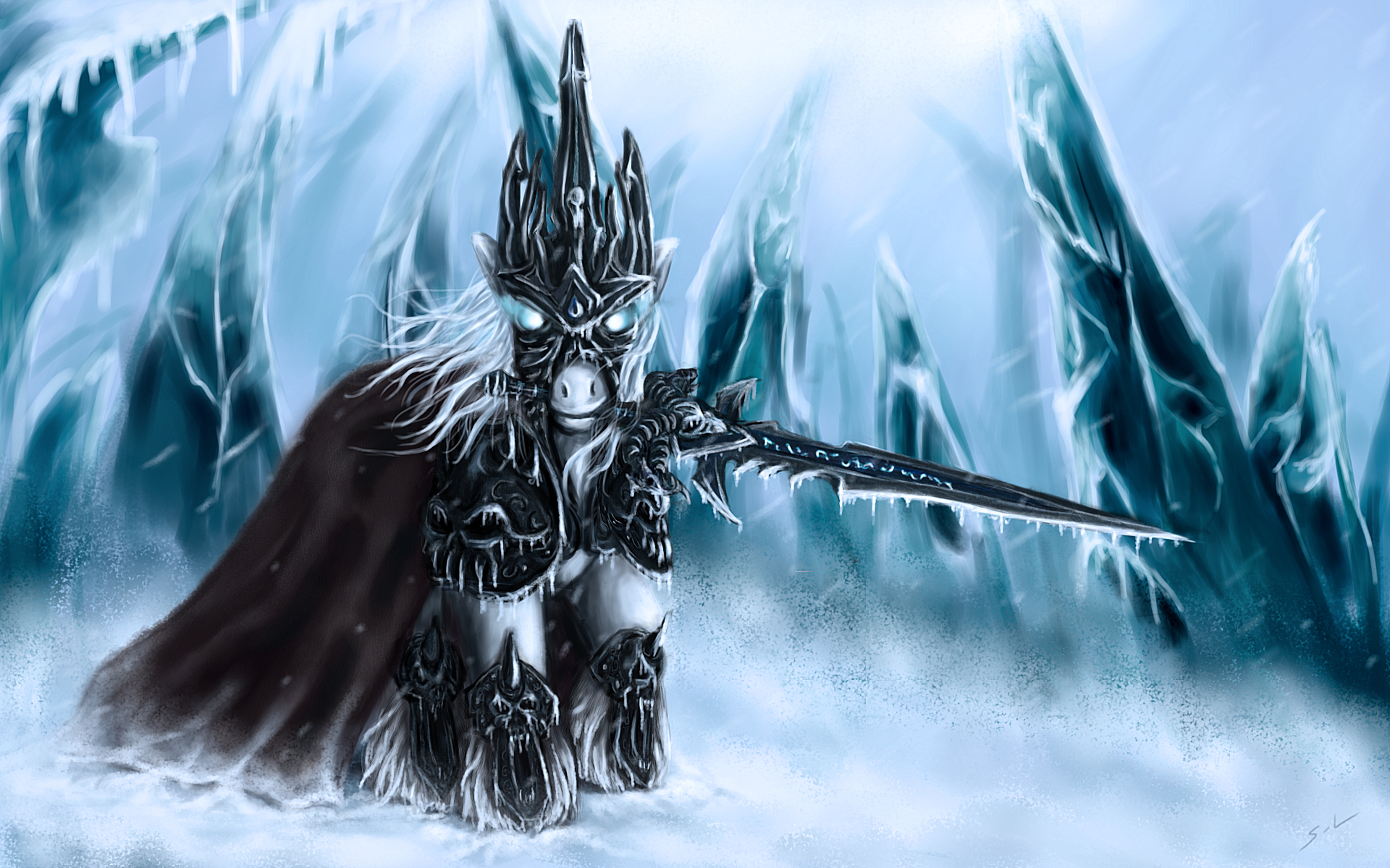 lich king My little HD Wallpaper