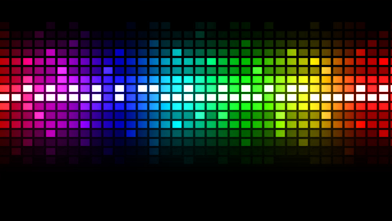 light abstract color spectrum HD Wallpaper