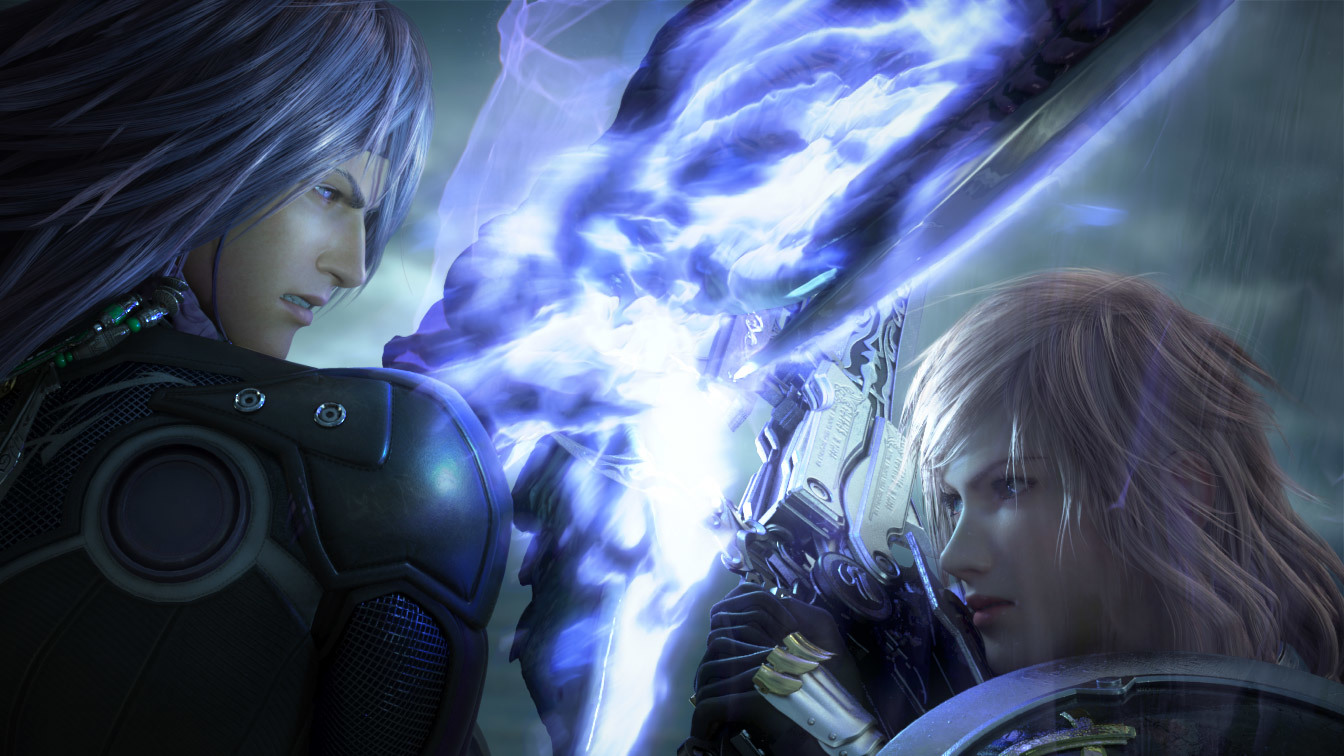 Lightning Final Fantasy XIII-2 HD Wallpaper