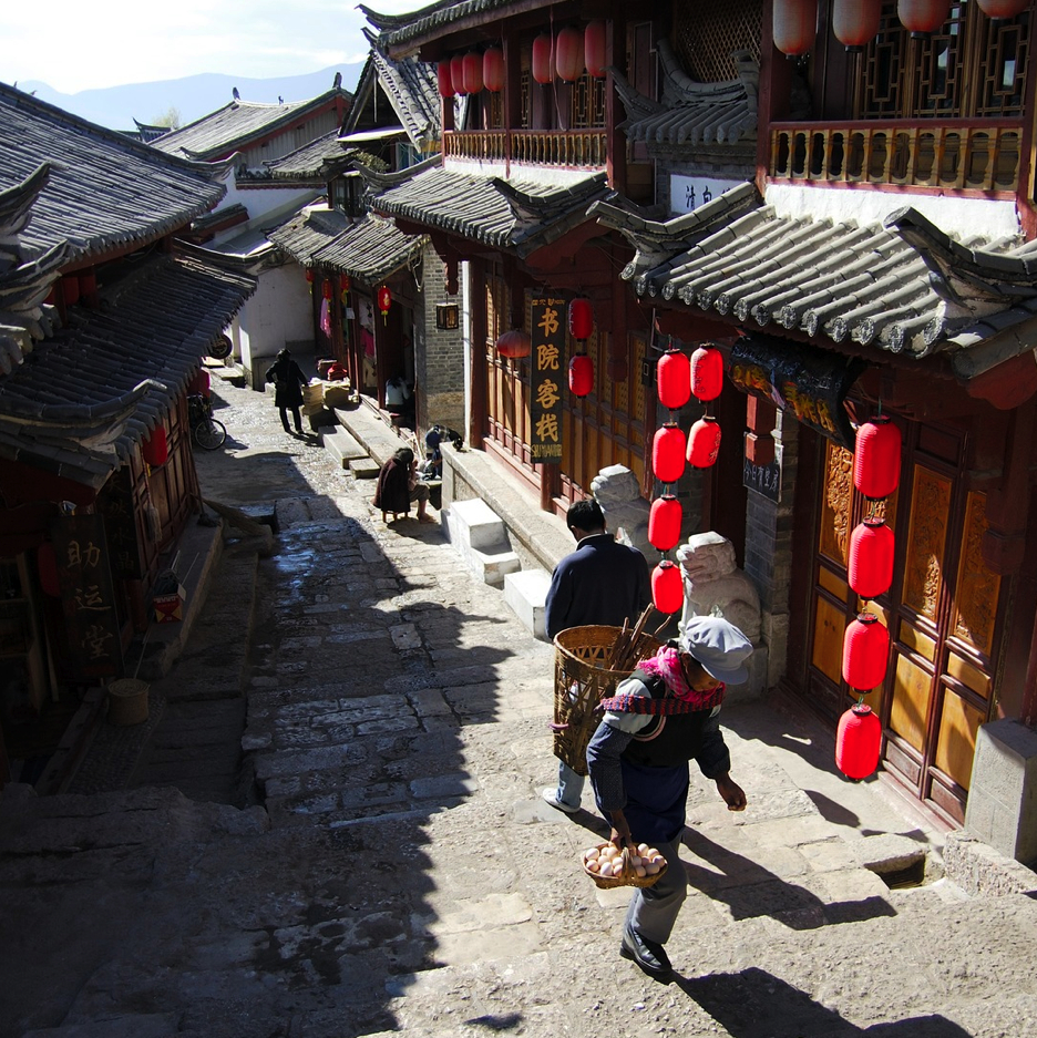 lijiang old town yunnan HD Wallpaper