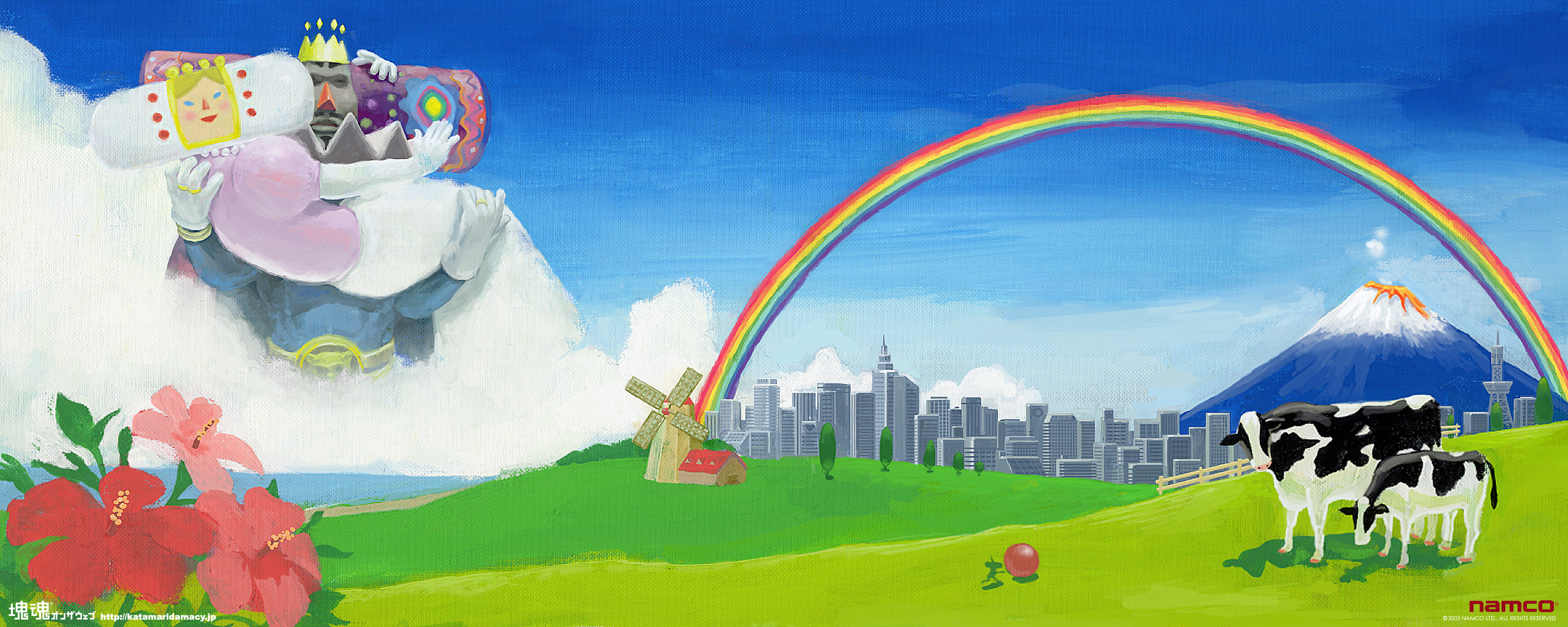 like Katamari HD Wallpaper