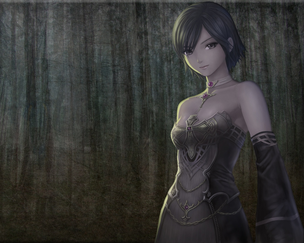 lineage 2 gothic dress HD Wallpaper