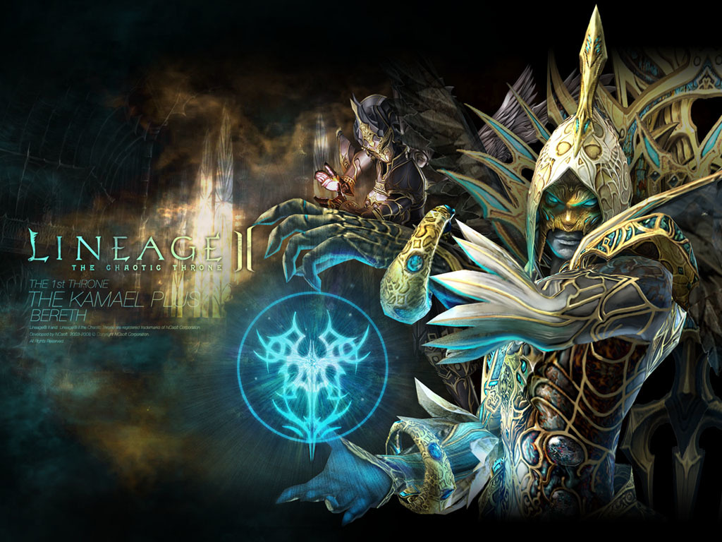 lineage game chaotic Throne HD Wallpaper