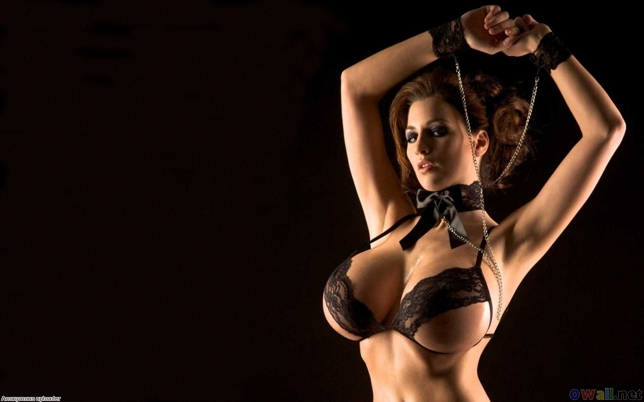 lingerie brunettes Women bondage HD Wallpaper