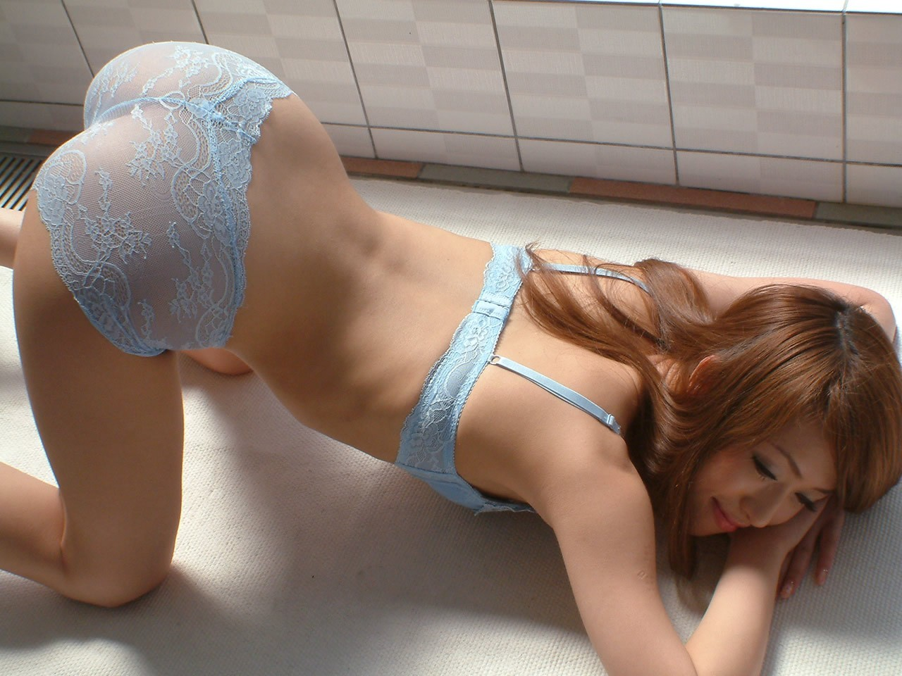 lingerie woman bent over HD Wallpaper