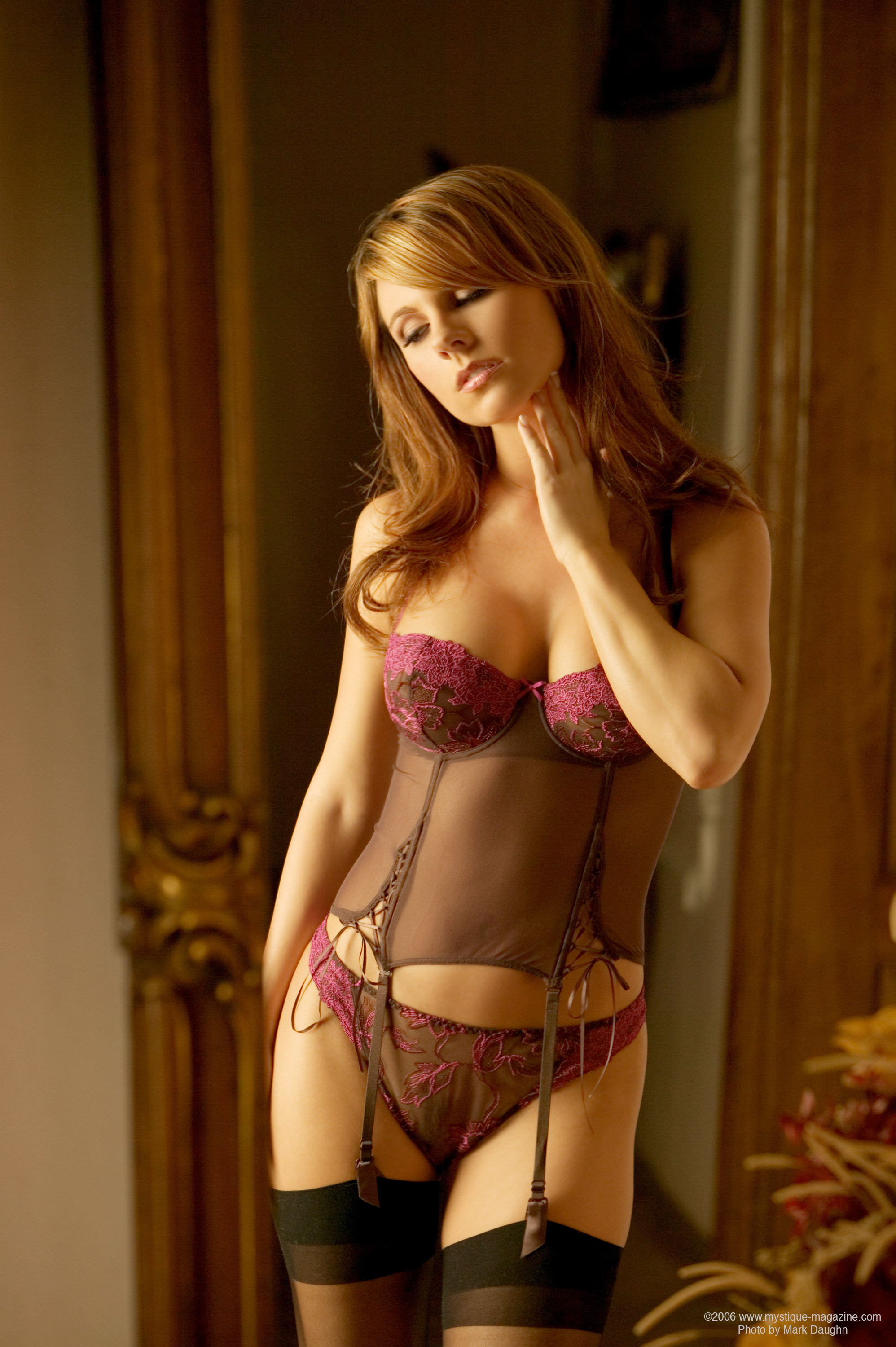lingerie woman garter belts