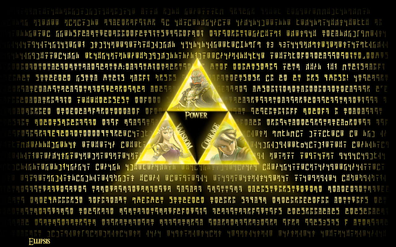 link Ganondorf triforce The HD Wallpaper