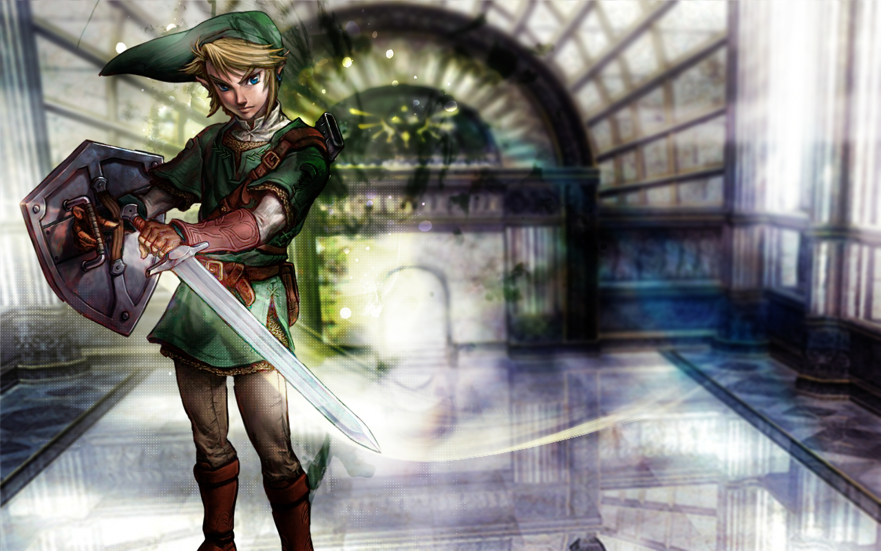 link The legend of HD Wallpaper