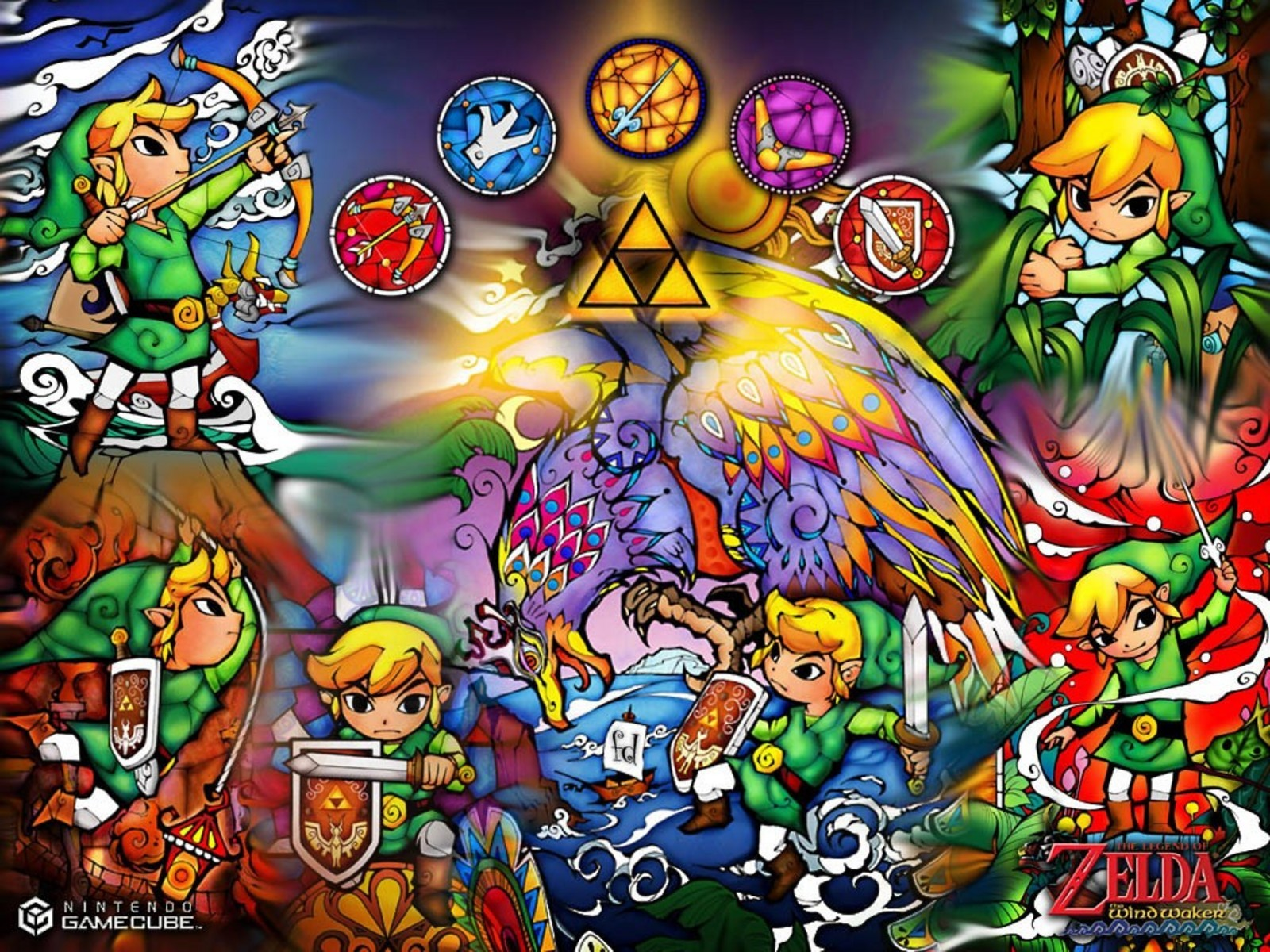 link triforce the legend