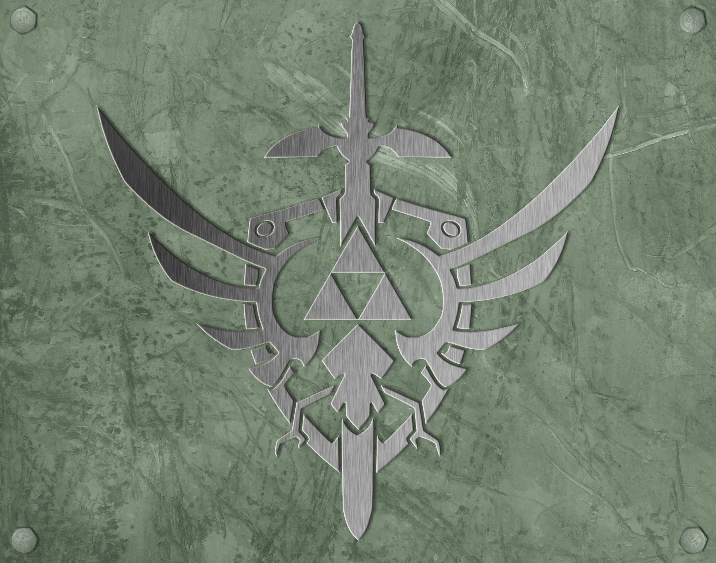 link triforce the legend HD Wallpaper