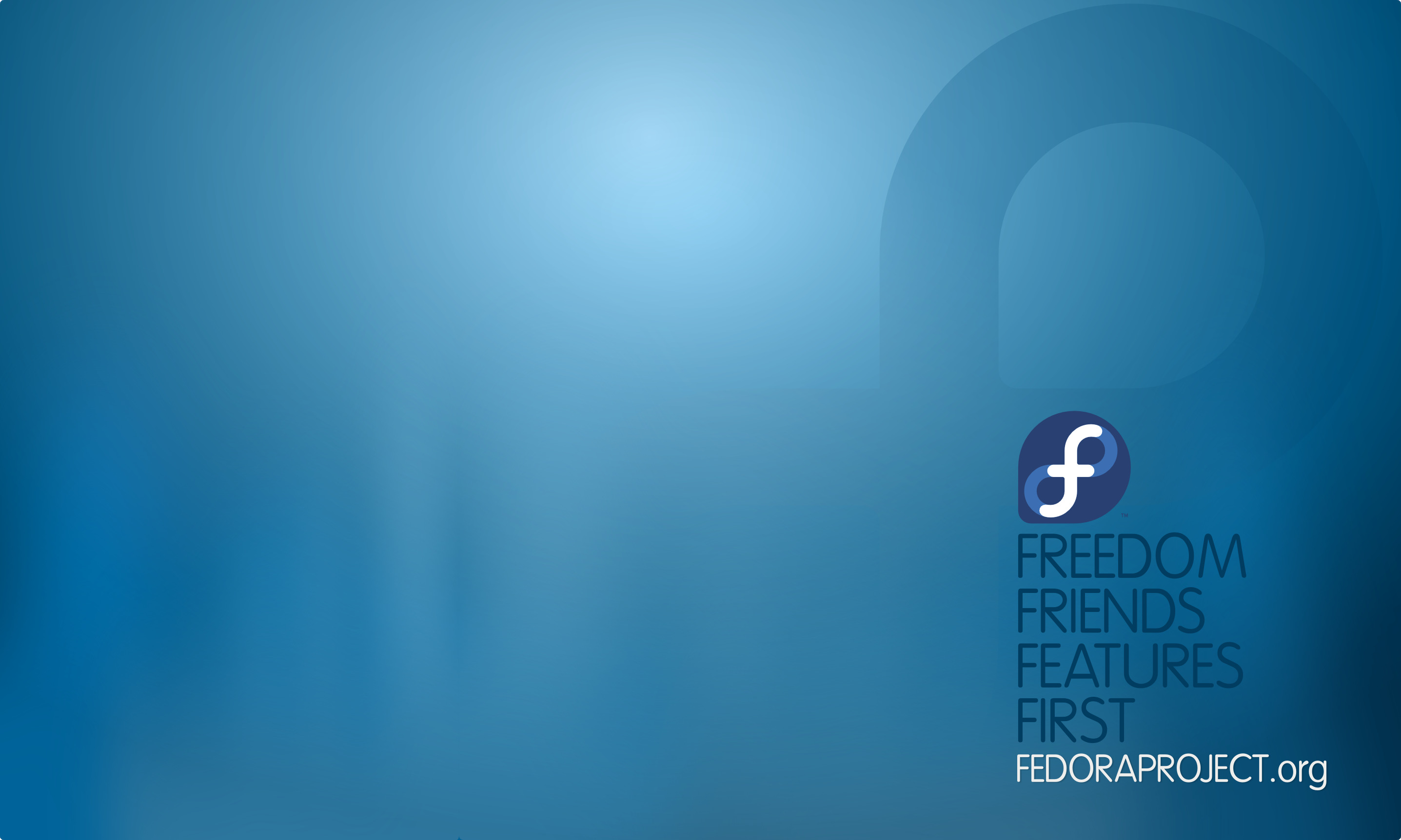 Linux Fedora Typography computer HD Wallpaper