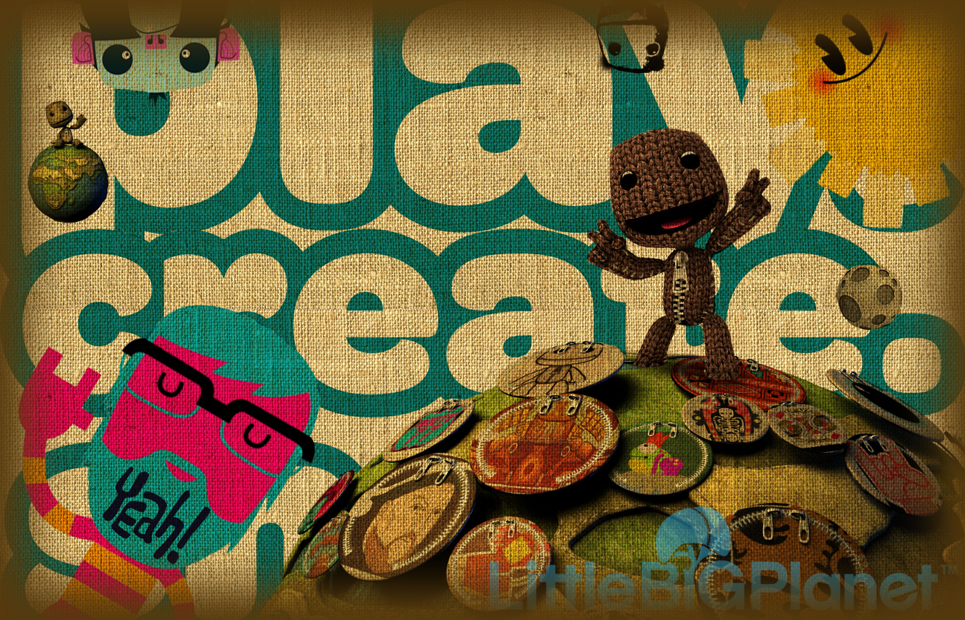 little big planet sackboy HD Wallpaper