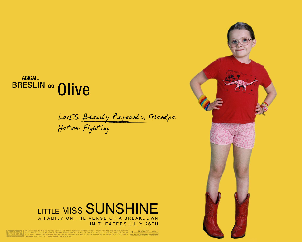 little miss sunshine abigail HD Wallpaper