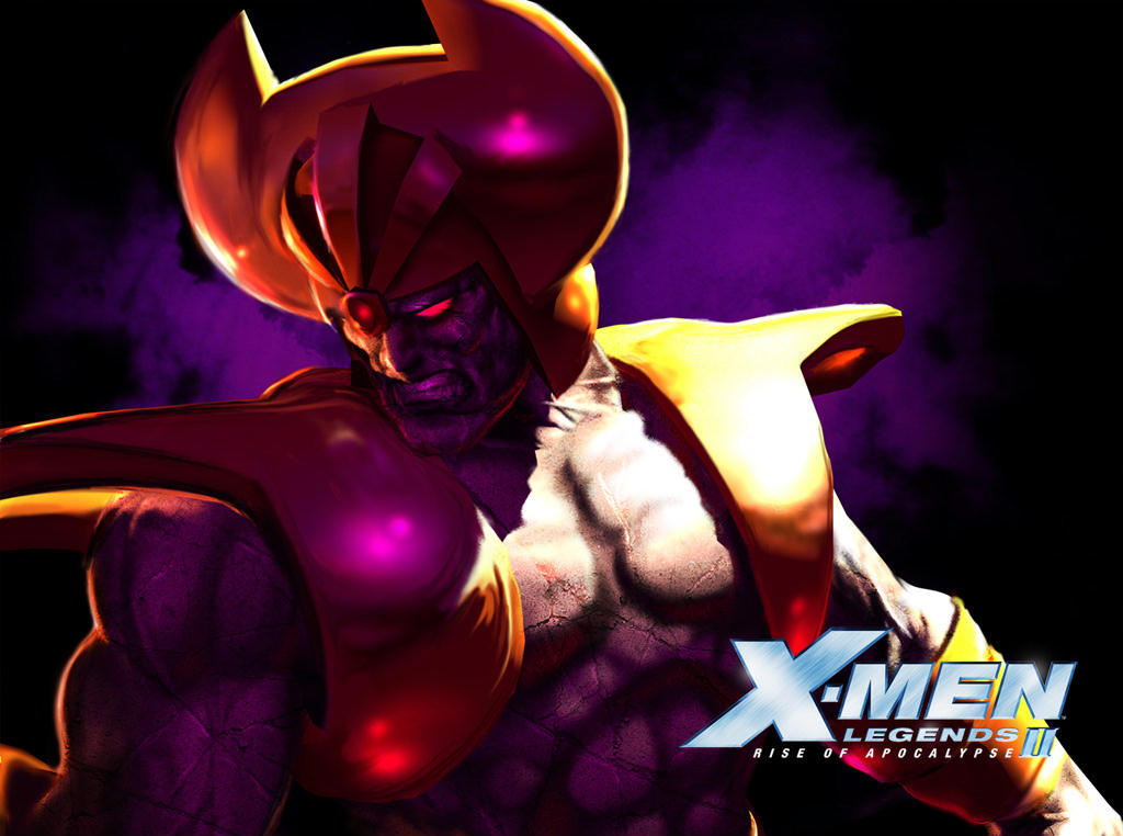 living monolith X-Men Legends HD Wallpaper
