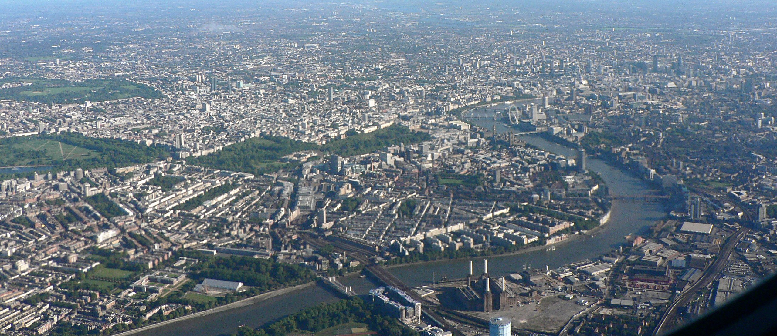 London from Above mld HD Wallpaper