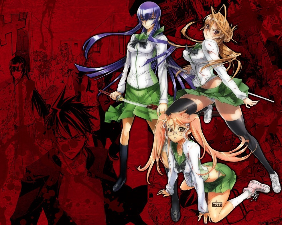 long hair highschool of HD Wallpaper