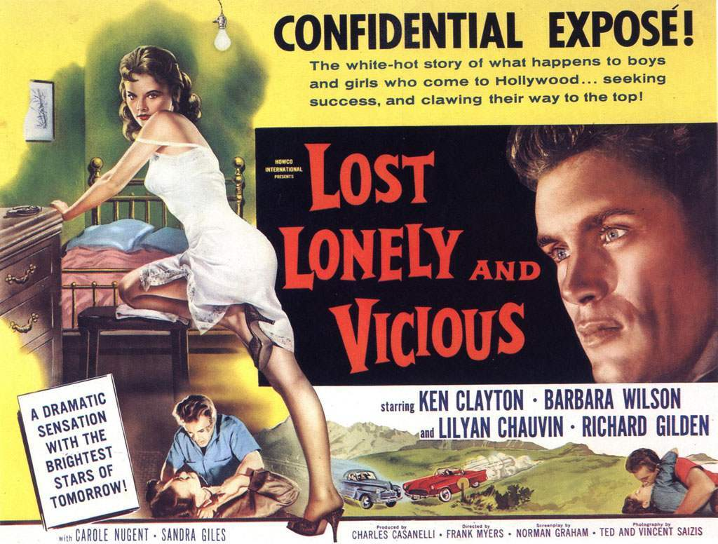 lost lonely vicious film HD Wallpaper