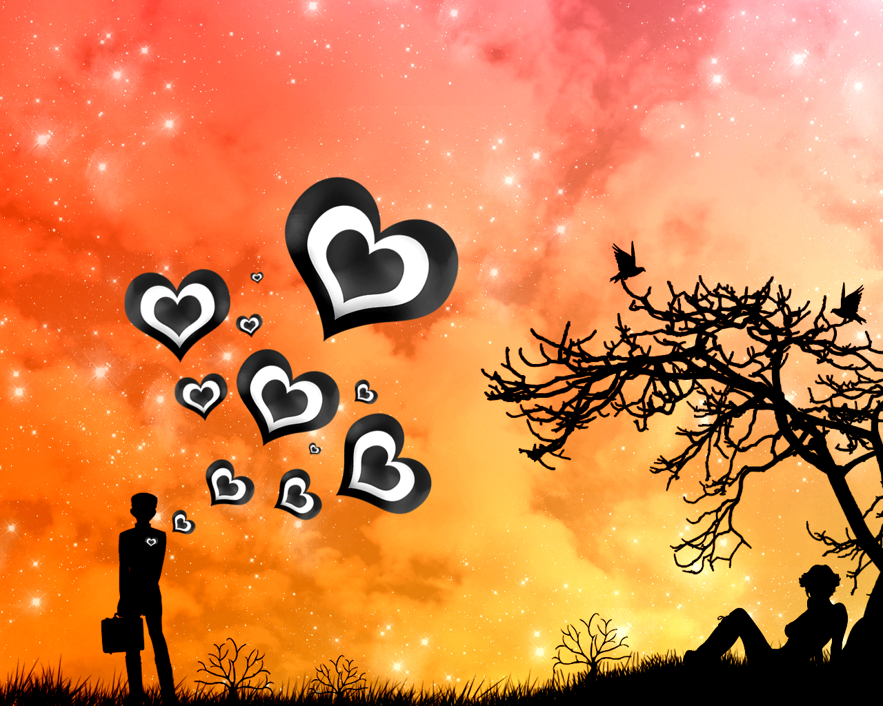 love Gifts valentines day HD Wallpaper