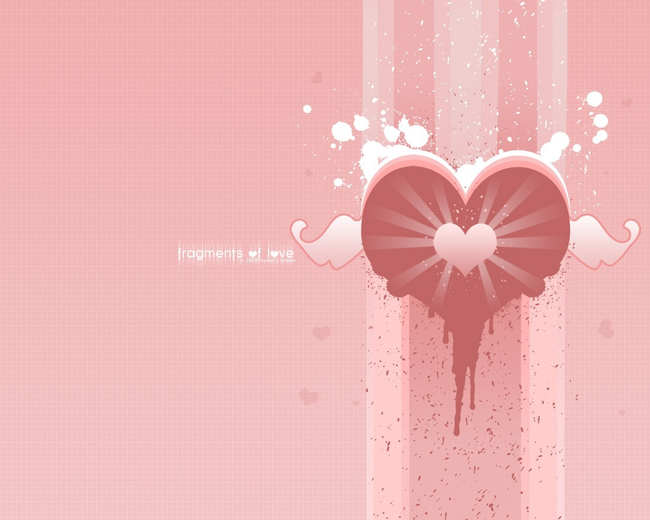 love Hearts affection HD Wallpaper