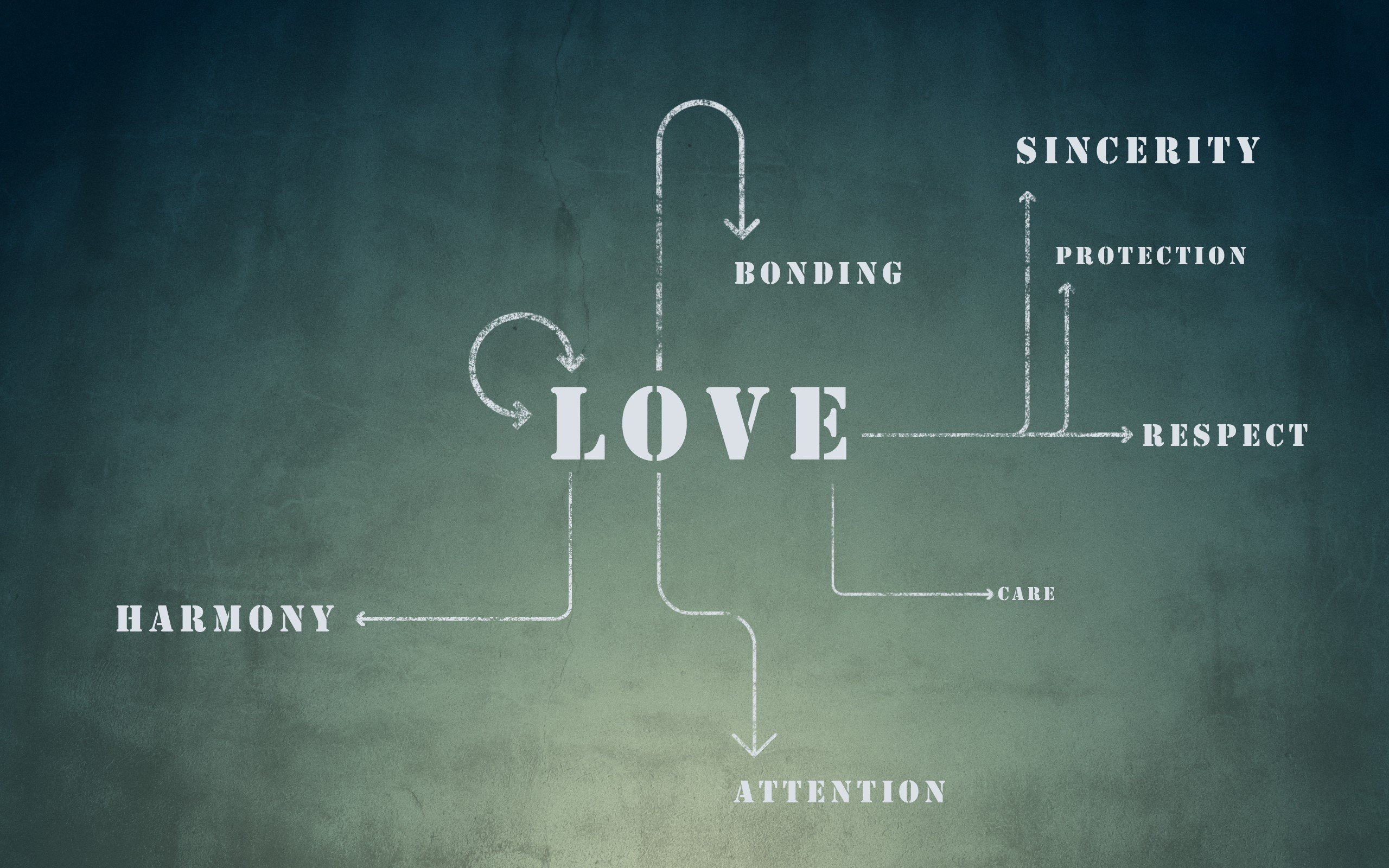 love text Typography diagram HD Wallpaper