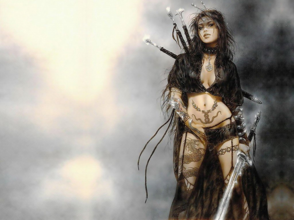 luis royo HD Wallpaper