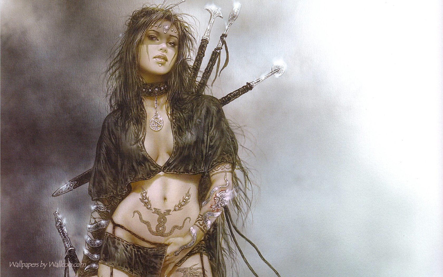 luis royo fantasy art HD Wallpaper