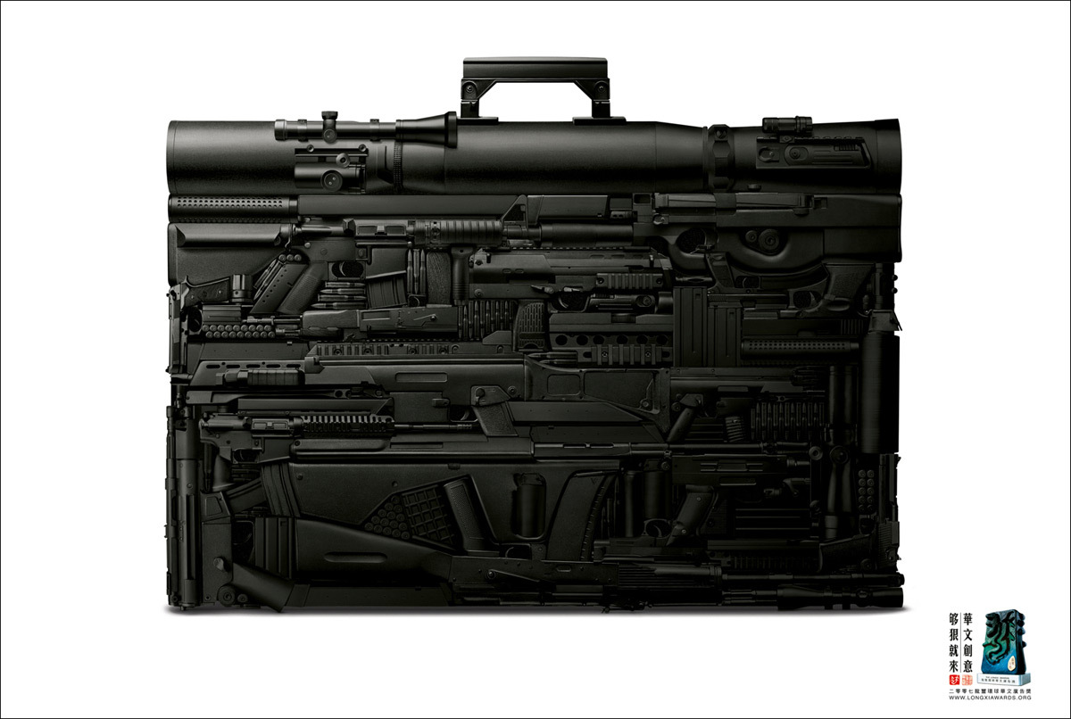 m9 mp5k MP7 suitcase HD Wallpaper